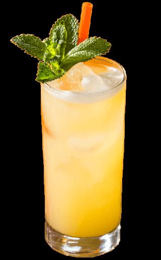 Cocktailrezept mit Ananas und Rum